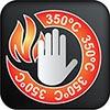 Temperatura máxima 350ºC