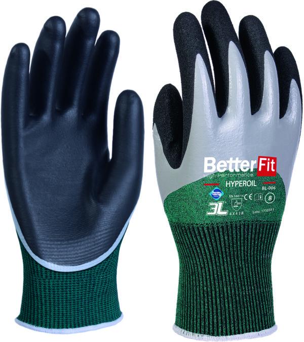 guantes de seguridad Betterfit HYPEROIL