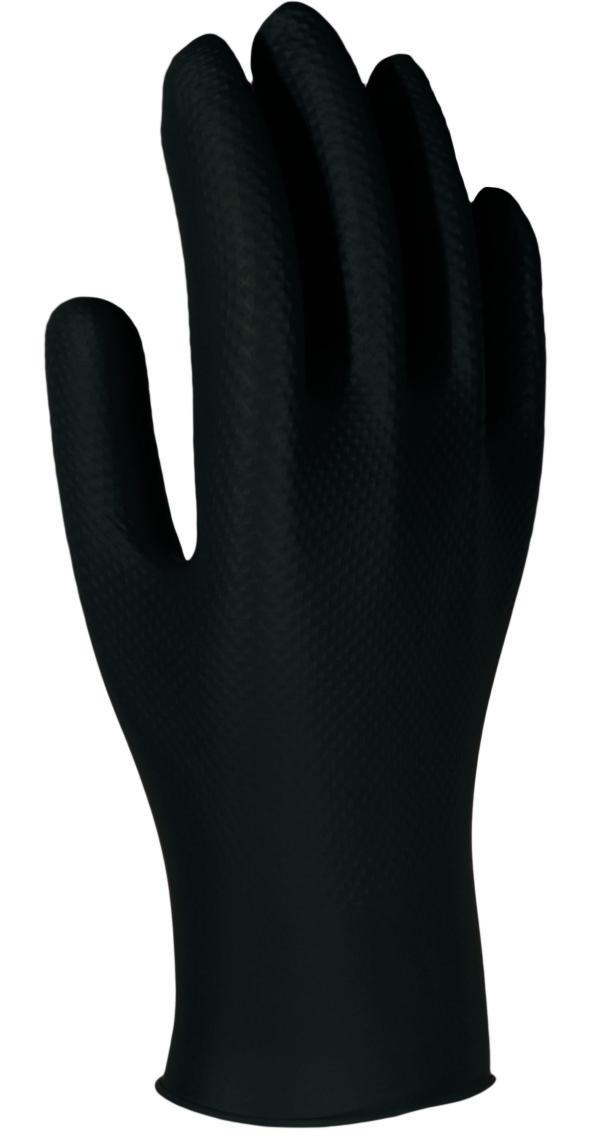 guantes desechables de protección química