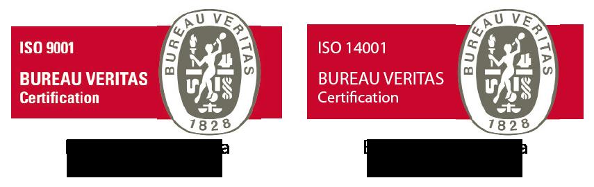 Bureau Veritas ISO-9001 ISO-14001