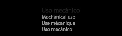 uso mecánico