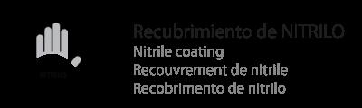 recubrimiento de nitrilo